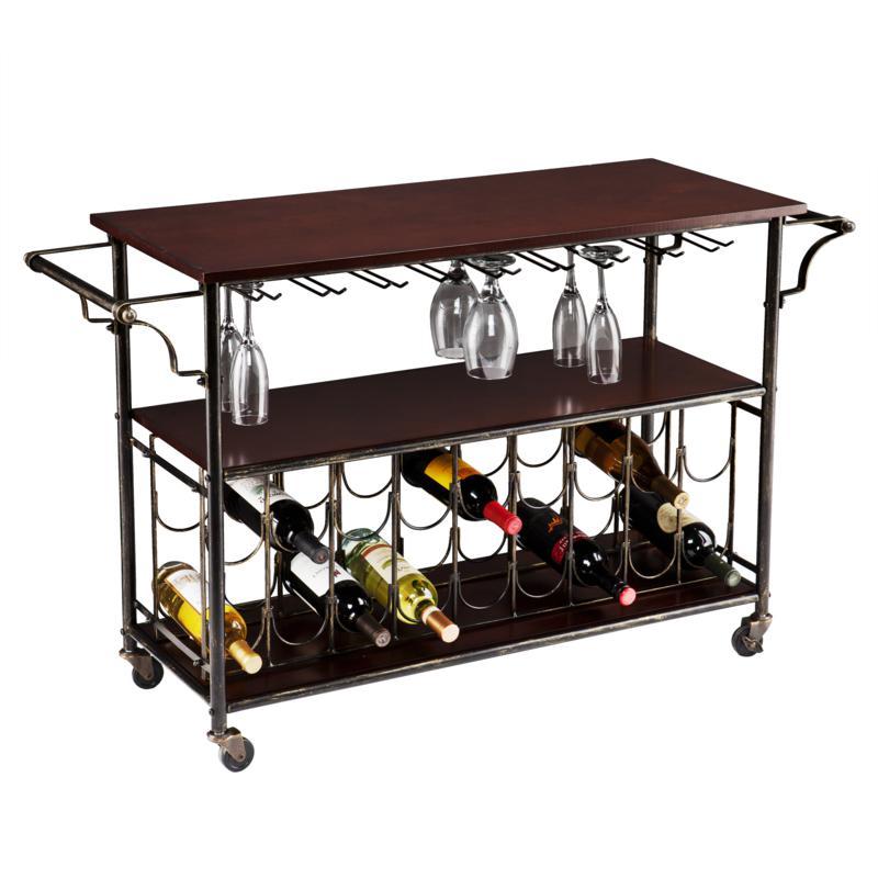 Southern Enterprises Halliday Bar Cart