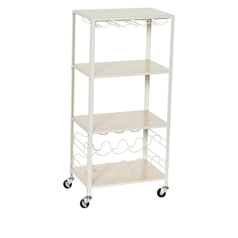 StoreSmith Wine Storage Cart with Attachments