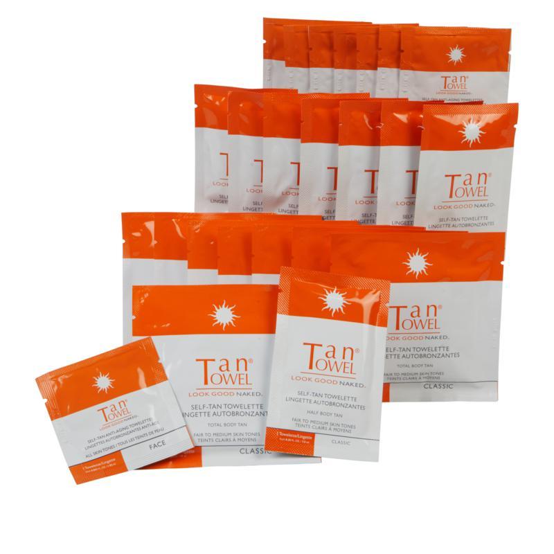TanTowel® 24-piece Classic Self Tan Kit