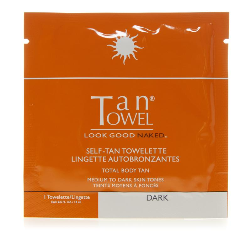 TanTowel® Total Body Dark Self Tan Towelette