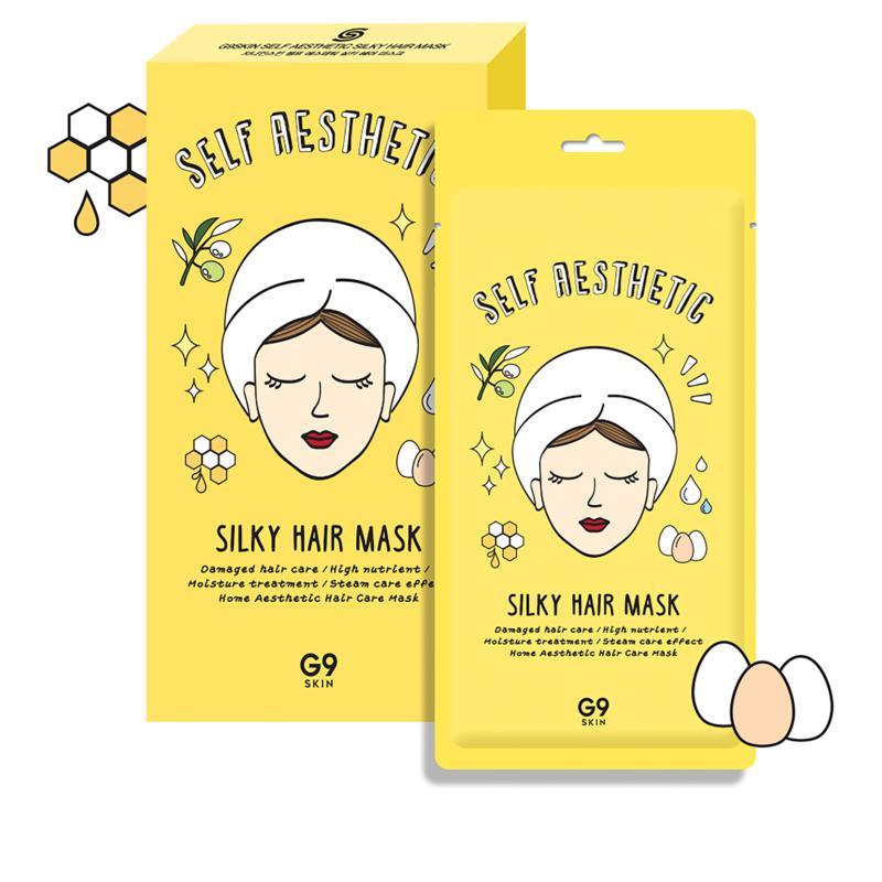 The Beauty Spy 5-pack G9 Skin Silky Hair Masks