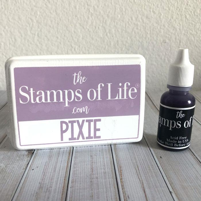 The Stamps of Life Pixie Ink Pad and Refill