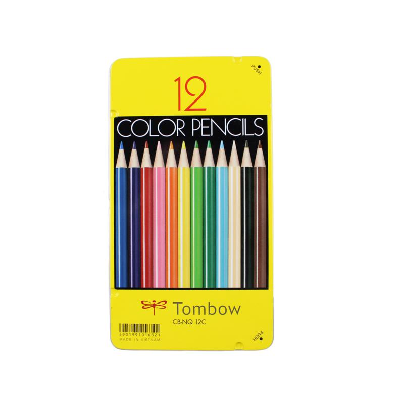 Tombow 1500 Series Colored Pencils 12-pack