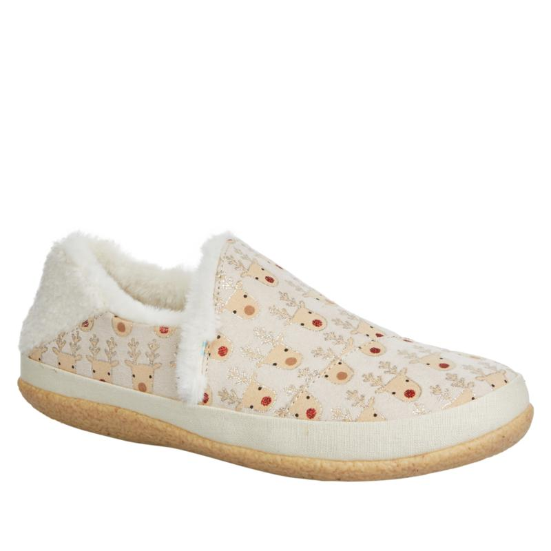 TOMS India Slipper with Rubber Sole