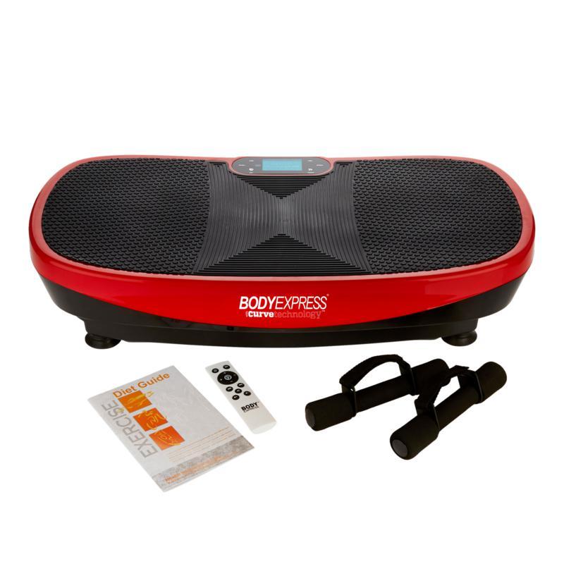 Tony Little Body Express Vibration Platform with 2 DVDs
