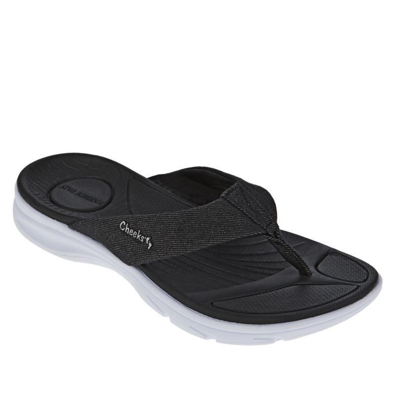 Tony Little Cheeks® Cushys Thong Sandal