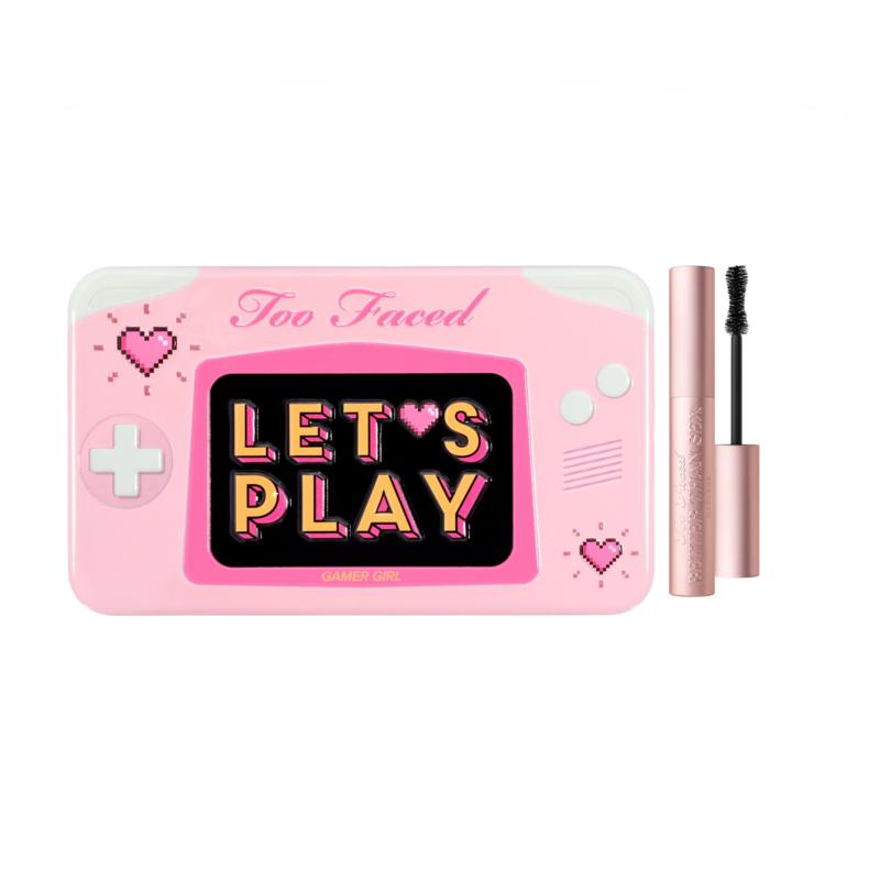 Too Faced Lets Play Mini Shadow Palette/Travel Better Than Sex Mascara