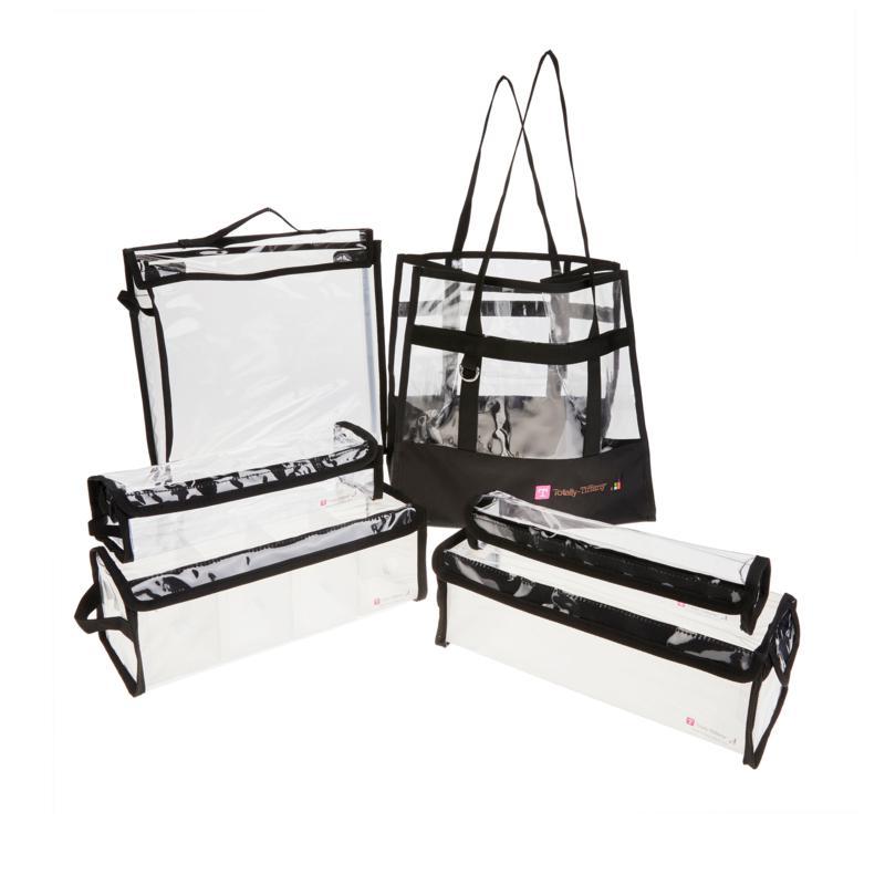 Totally Tiffany Buddy Bag Craft and Go 6-piece Bundle - Black