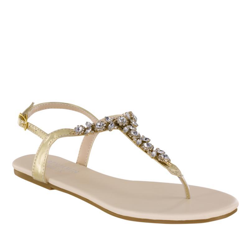 Touch Ups Paula Jeweled Thong Sandal
