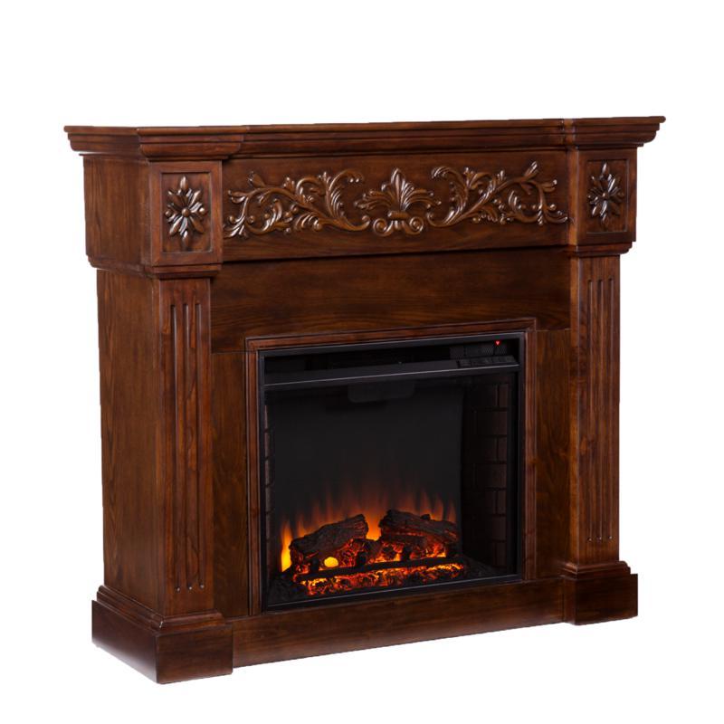 Vercelli Electric Fireplace - Espresso