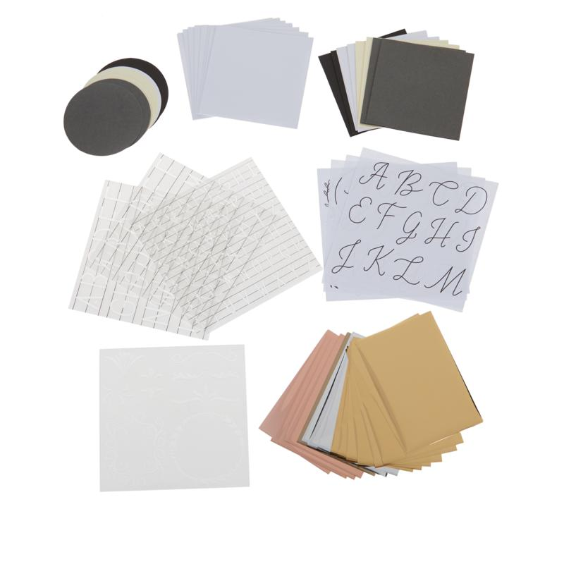 We R Memory Keepers Foil Quill Monogram Kit