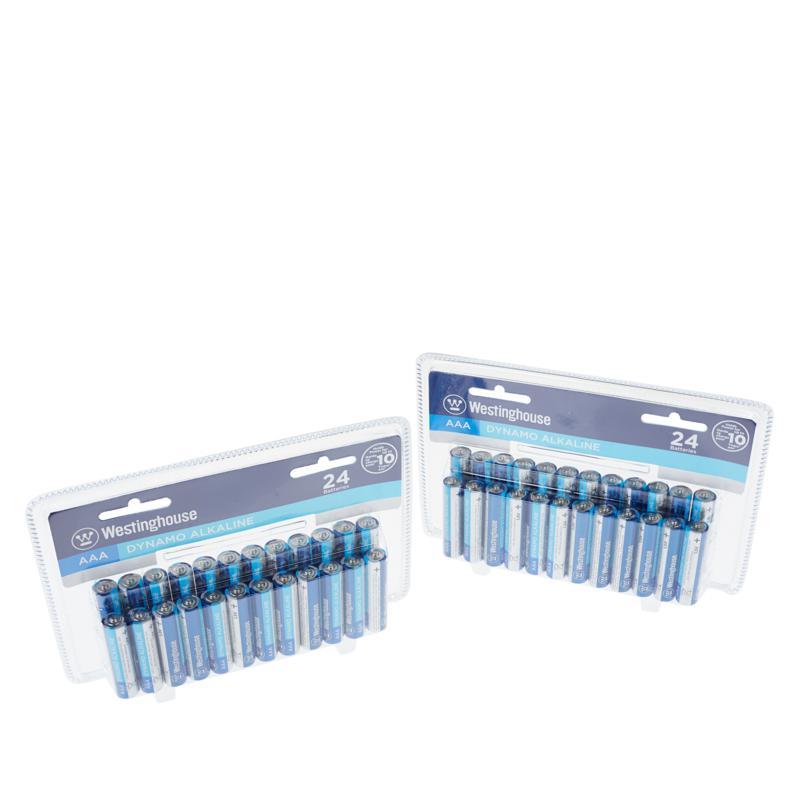 Westinghouse 48-pack AAA Alkaline Batteries