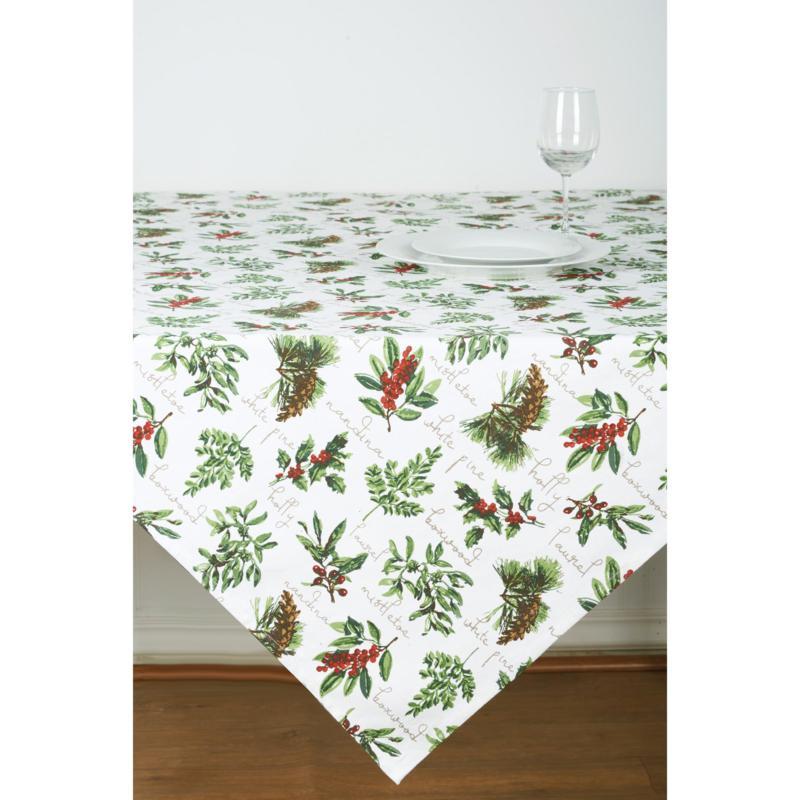 Winter Botanical Table Topper