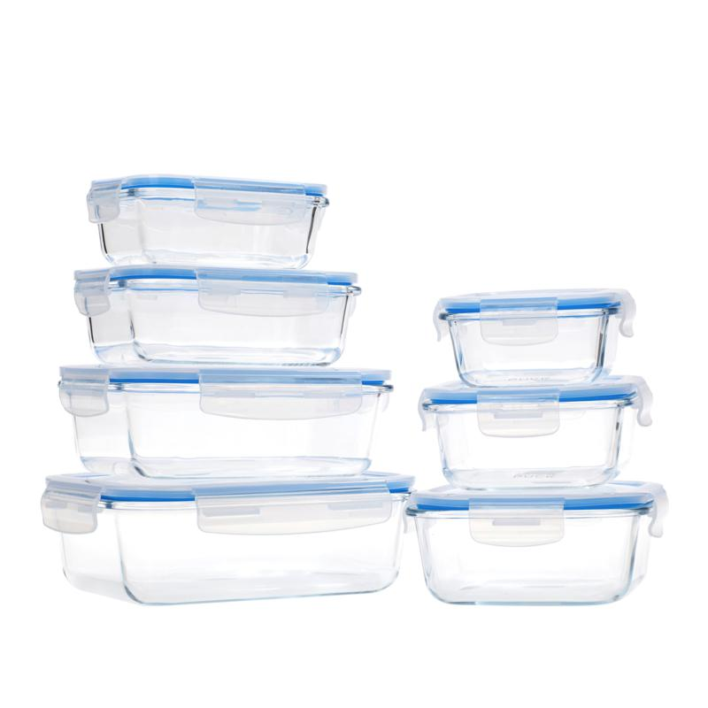 Wolfgang Puck 14 Piece Glass Food Storage Containers With Lids 9547265 Hsn