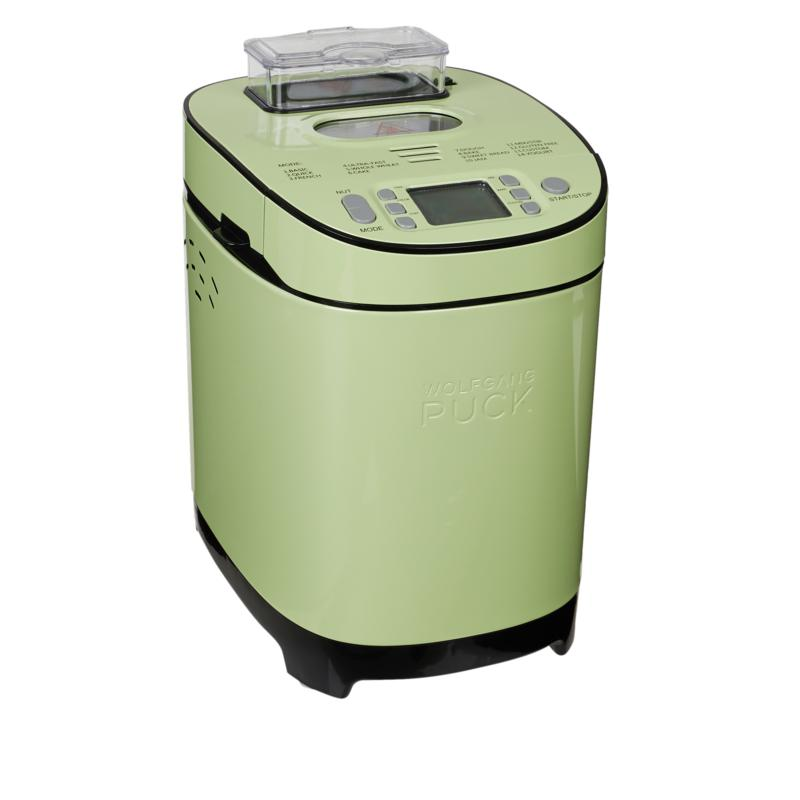 Wolfgang Puck 2 lb. 14-Function Bread Maker with Nut Dispenser