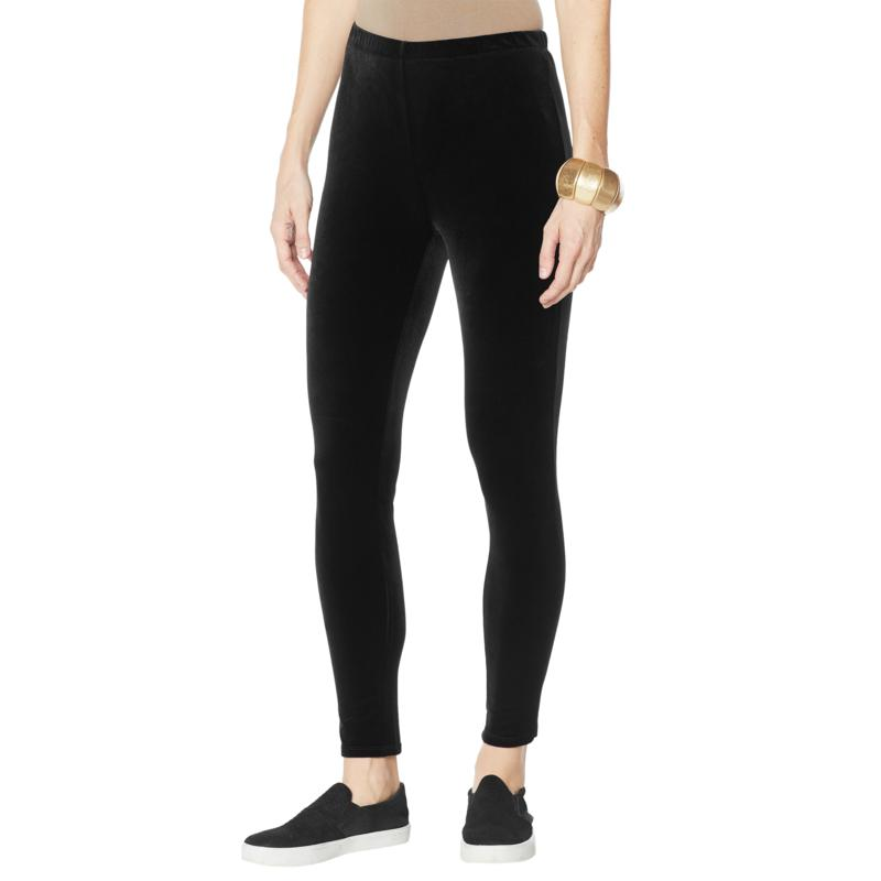 WynneLayers Stretch Velvet Legging