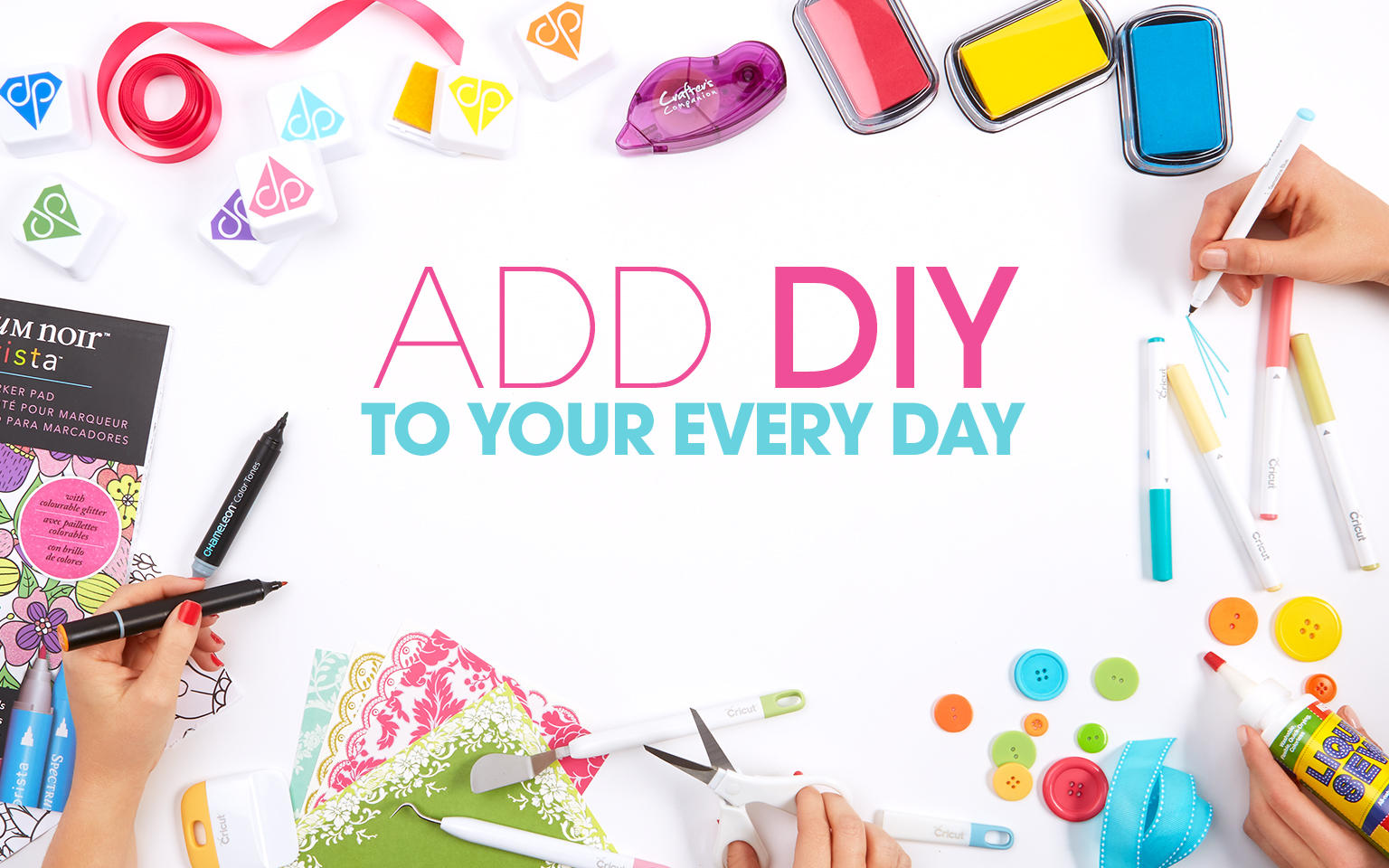 Add D I Y to your everyday: Craft essentials for every project at every price
