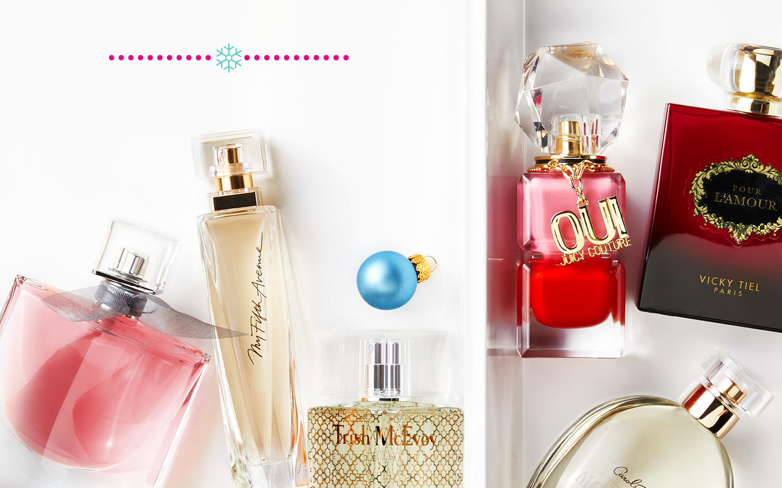A variety of fragrances