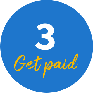 3. Get Paid
