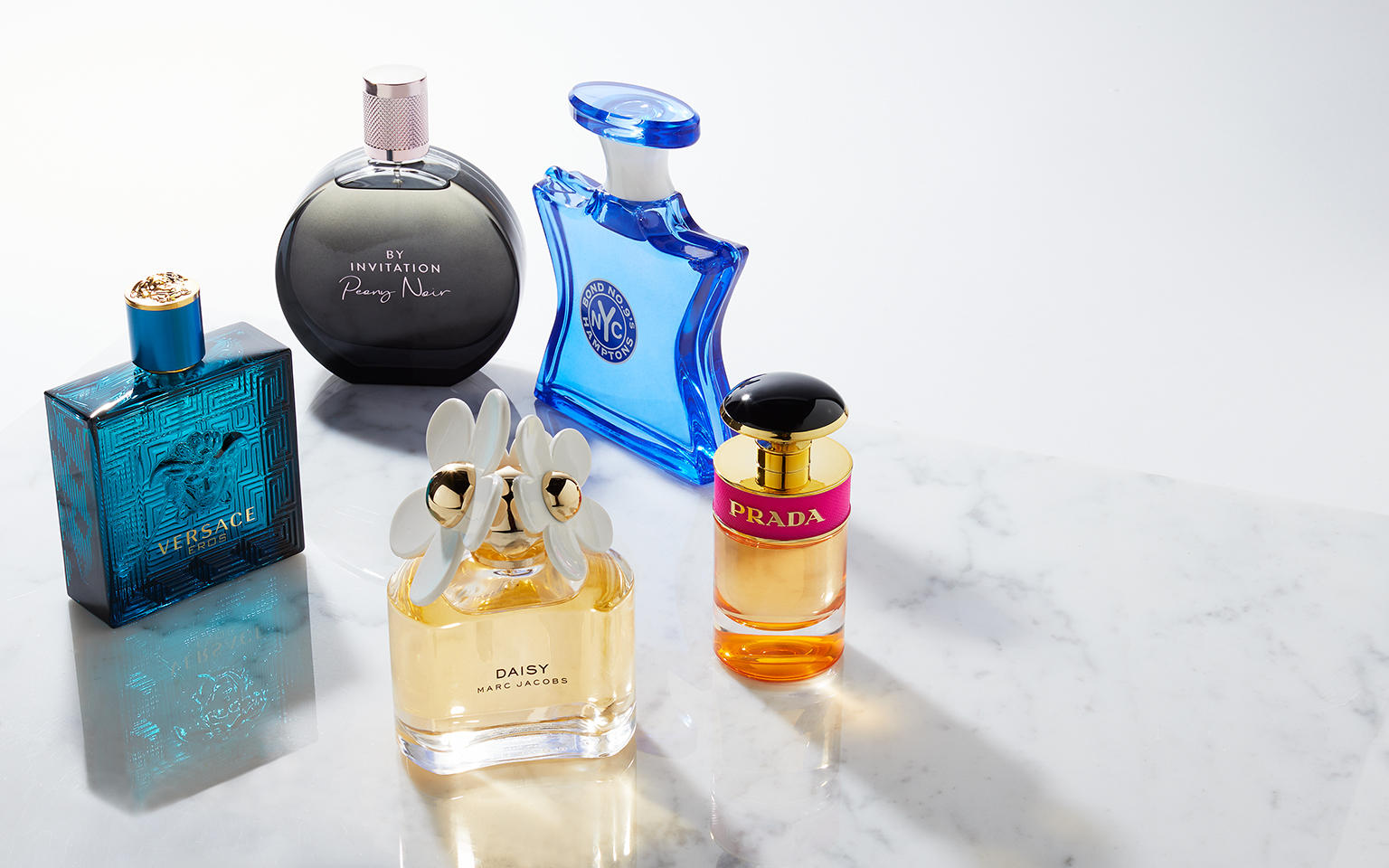 Lancome fragrance bottles